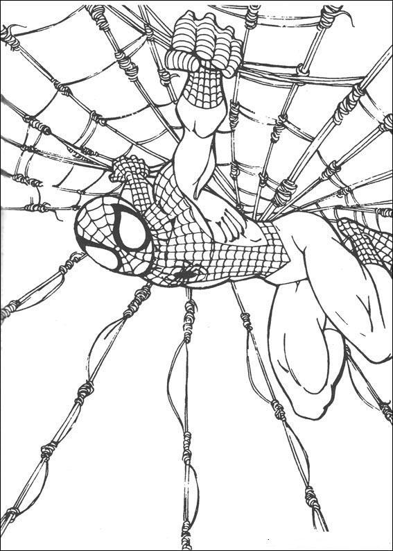 kolorowanki Spider Man to prawdziwa gratka dla miłośników