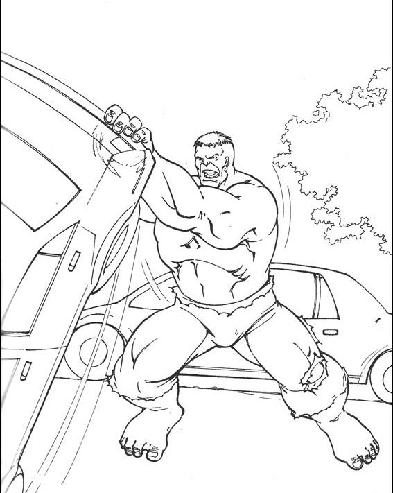 Kolorowanki Hulk Malowanki Do Wydruku