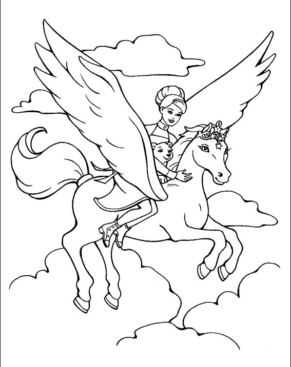 diamond coloring pages of horse - photo#36