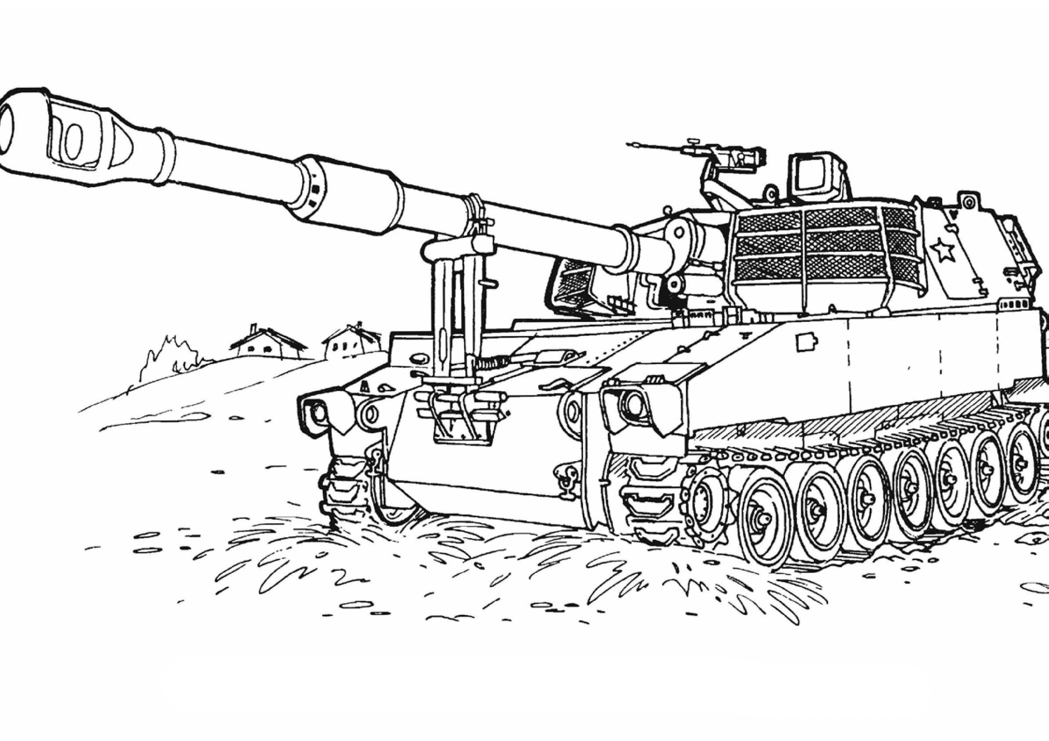 Kolorowanki Wojsko Zolnierz Malowanki