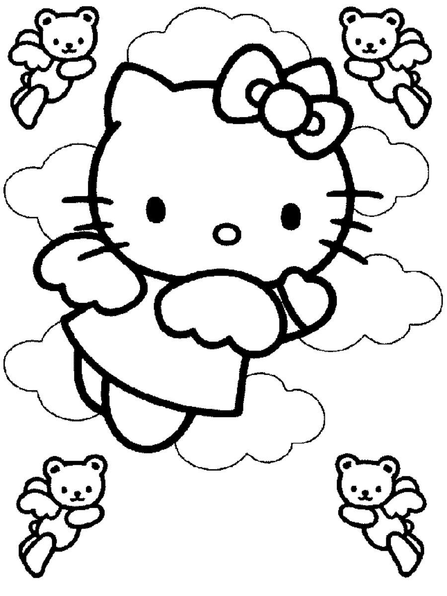 Dla Dziewczynek Kolorowanki Hello Kitty Kolorowanka Hello Kitty