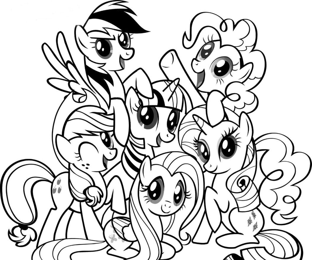 My Little Pony Coloring Pages Pdf Costumepartyrun