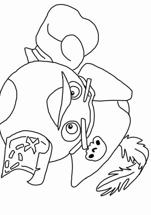 Coloring Pages Of Angry Birds Go: Angry birds go coloring ...