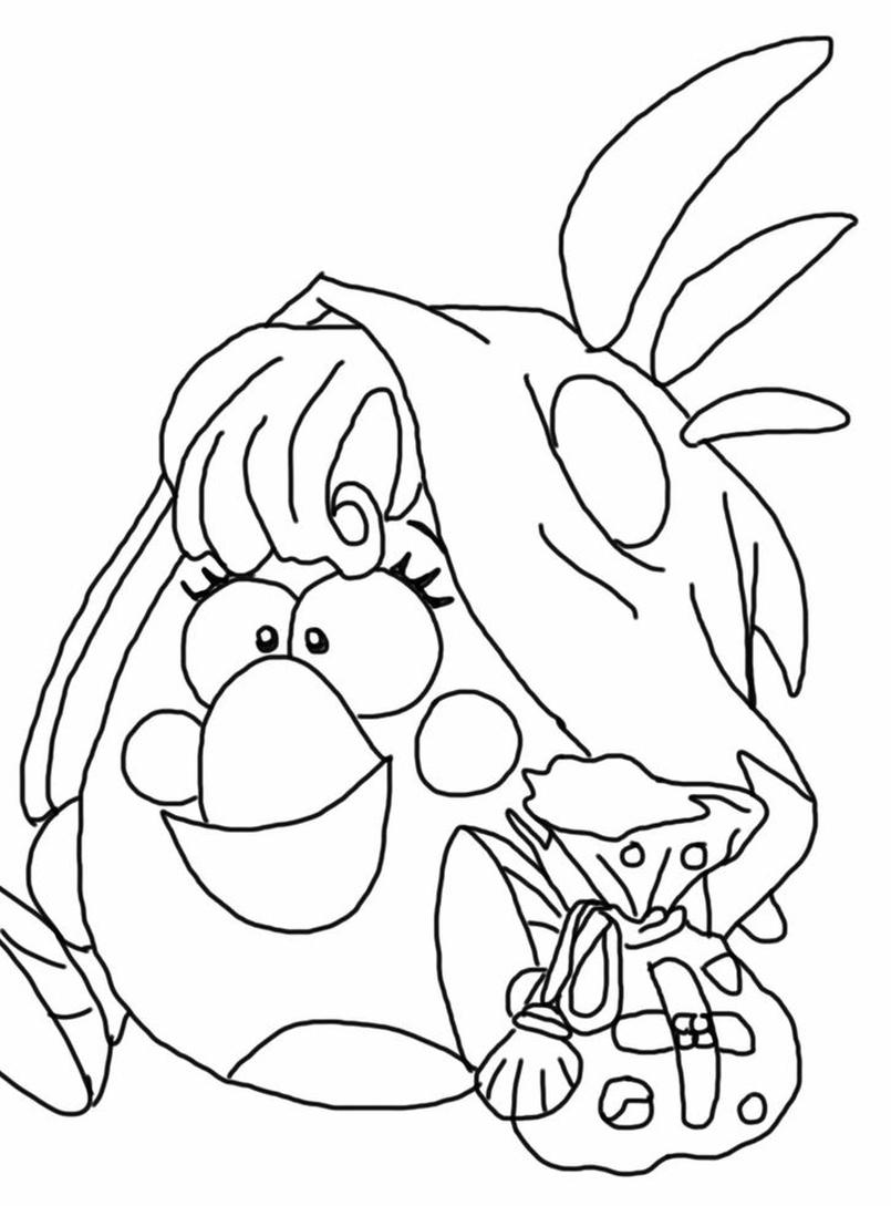 Kolorowanka Matylda Cleric Angry Birds Epic Nr 13