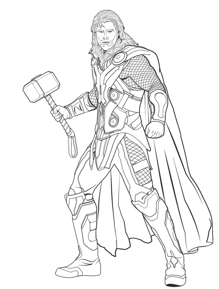 Superhero Coloring Pages Avengers : Superhero coloring pages avengers images download