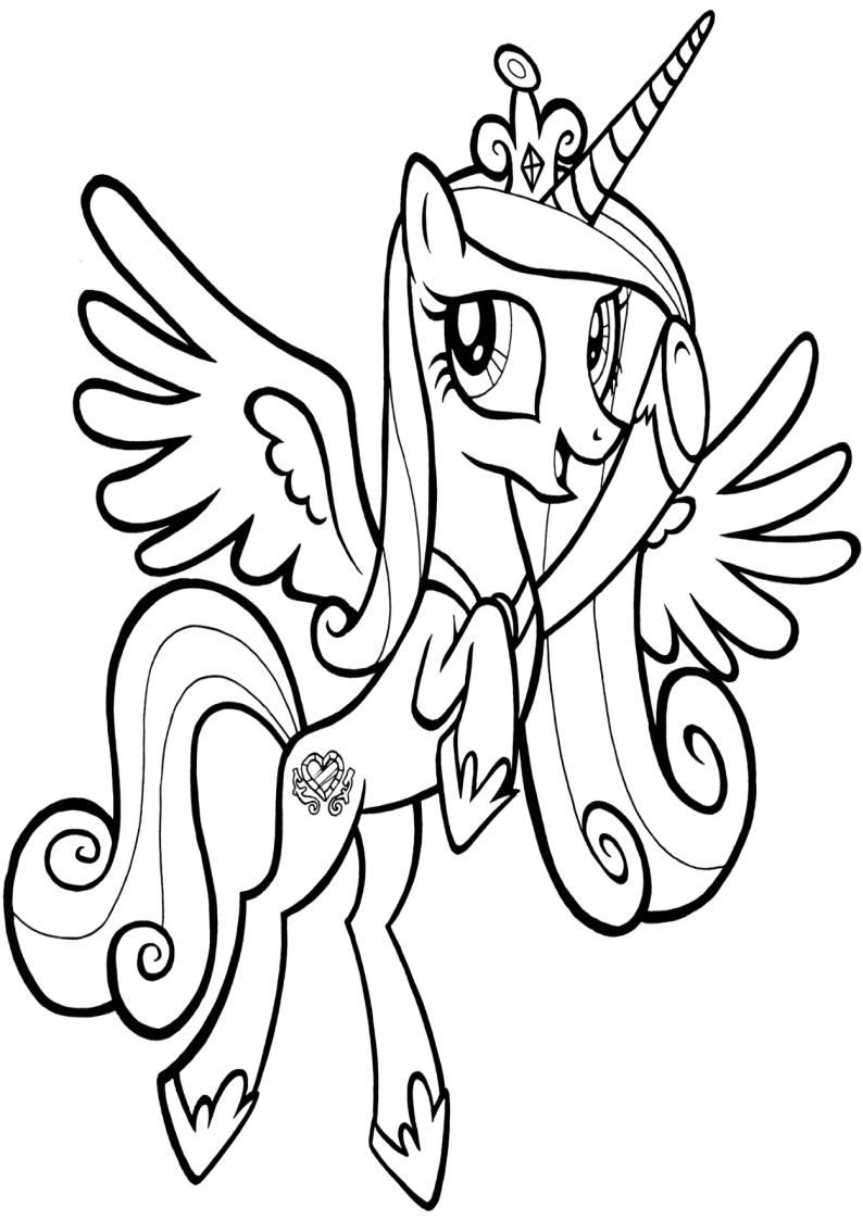 Kolorowanka My Little Pony Malowanka Do Wydruku Nr 43