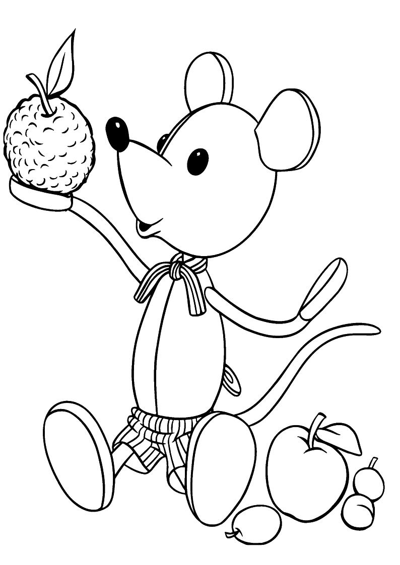 Kolorowanka Noddy Nakrecana Mysz Nr 53