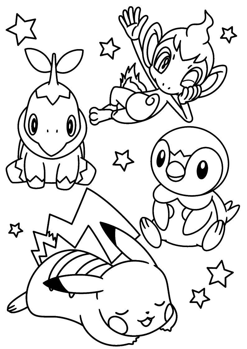 Kolorowanka Pokemon Malowanka Do Wydruku Nr 55